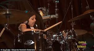 6-Year-Old Drummer with Crazy Skills