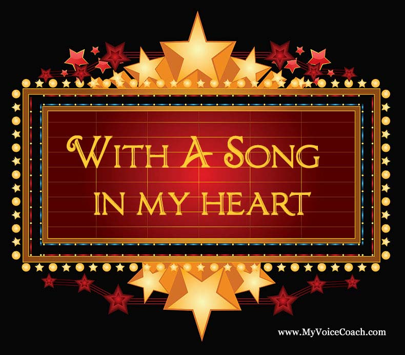 With A Song In My Heart